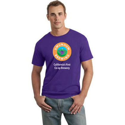 Umunhum Brewing Purple T-Shirt - Men's