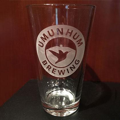 Umunhum Brewing Pint Glass