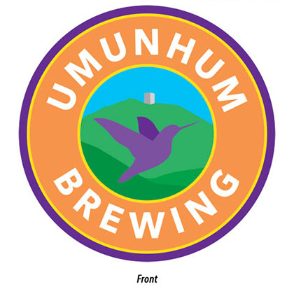 Umunhum Brewing Coaster Front