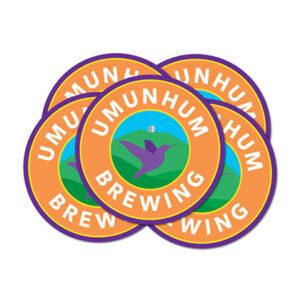 Umunhum Brewing Coasters
