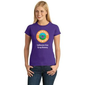 Umunhum Brewing Purple T-Shirt - Women's