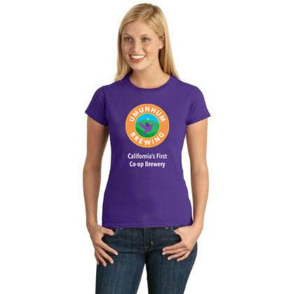 Umunhum Brewing Purple T-Shirt - Women's